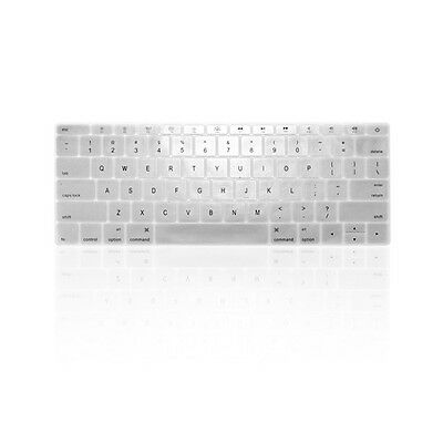 "SILVER Keyboard Cover for Macbook Pro 13"" A1708 WITHOUT Touch Bar (Release 2016)"