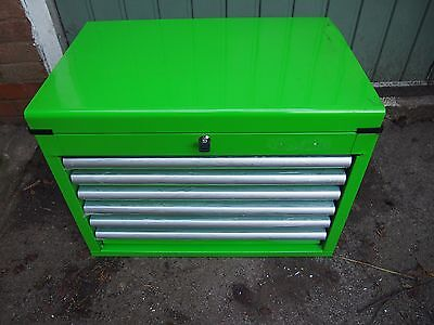 Halfords Industrial Black 6 Drawer Ball Bearing Tool Chest