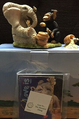 Tuskers Elephant Retired. Love Is - The Sweetest Thing. New In Box