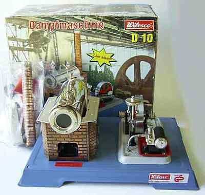 AU-Special: WILESCO D10 NEW TOY STEAM ENGINE - Made in Germany - Postage FREE