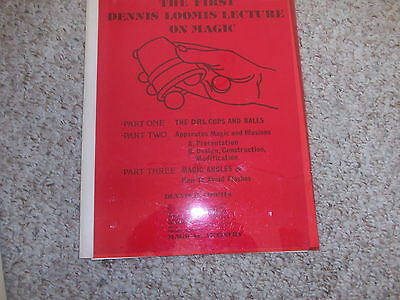 Dennis Loomis Lecture book