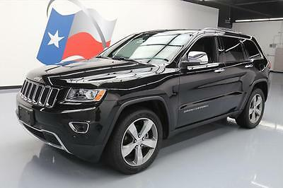 2014 Jeep Grand Cherokee Limited Sport Utility 4-Door 2014 JEEP GRAND CHEROKEE LIMITED ECO DIESEL NAV 47K MI #317165 Texas Direct Auto