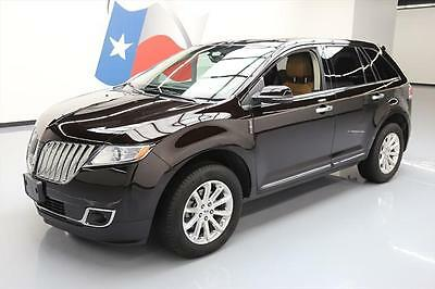 2015 Lincoln MKX Base Sport Utility 4-Door 2015 LINCOLN MKX AWD VISTA SUNROOF NAV REAR CAM 22K MI #L20187 Texas Direct Auto