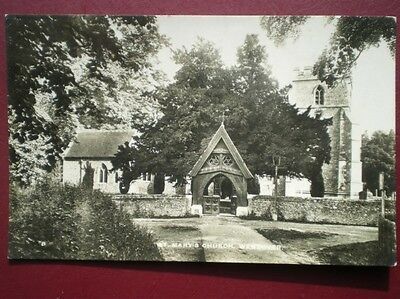 Postcard Rp Buckinghamshire Wendover - St Mary's Church