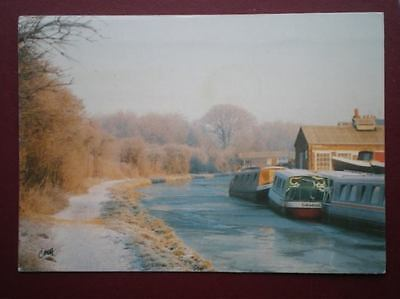 Postcard Rp Oxfordshire The Oxford Canal At Jericho