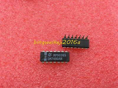 (1Pcs) Dm7490An Ic Counter Binary/dece 14-Dip 7490 Dm7490