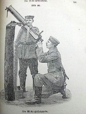 Very Rare 1918 Ww1 Army Book For German Machine Gun 08 Companies Others Ask $217