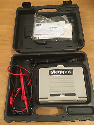 Megger Lt300 Loop Tester  Used In Excellent Working  Condition