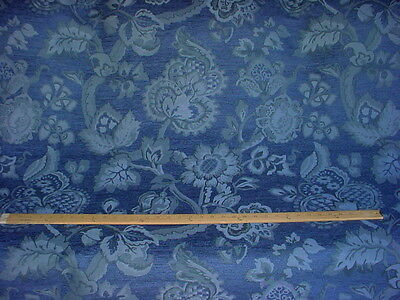 19+y DOBLIN MORSELY JACOBEAN FLORAL BLOSSOM DAMASK CHENILLE UPHOLSTERY FABRIC