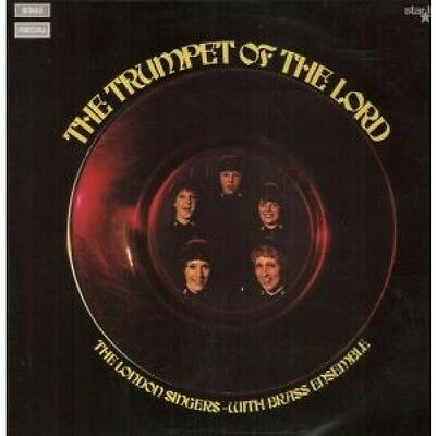 LONDON SINGERS WITH BRASS ENSEMBLE Trumpet Of The Lord LP VINYL 12 Track But