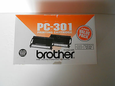 New Genuine Brother PC-301 Printing Cartridge