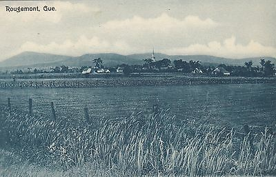 Village ROUGEMONT Quebec Canada 1907-15 Illustrated Post Card Co. Postcard
