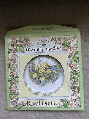 Royal Doulton Brambly Hedge Spring small side plate