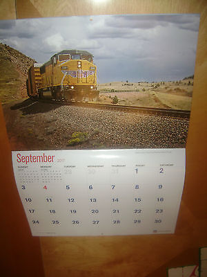Union Pacific Railroad Corporate Wall Calendar 2017 - 10 x 14 inches folded