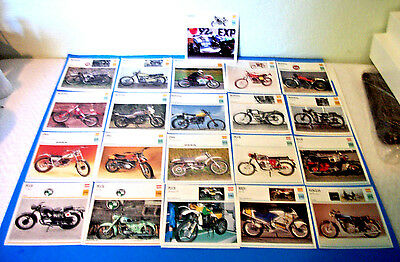 Vintage !!! Montesa & Others  Motorcycles 21 Picture Lot( Made In Spain )!!!