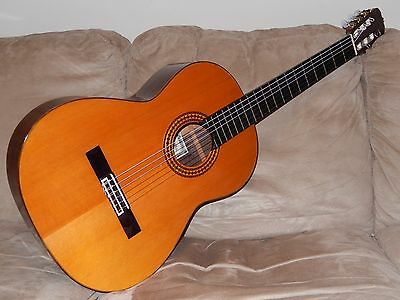Hand Made In Japan 1982 Ryoji Matsuoka M60 Superb Ramirez Style Classical Guitar