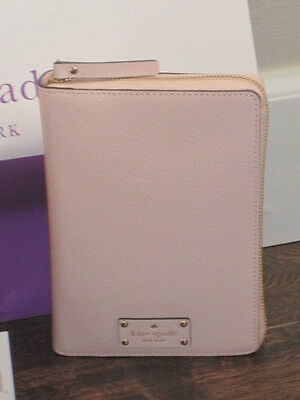 Kate Spade  Pink Ballet Slipper Wellesley Personal Organizer Planner & Dustbag