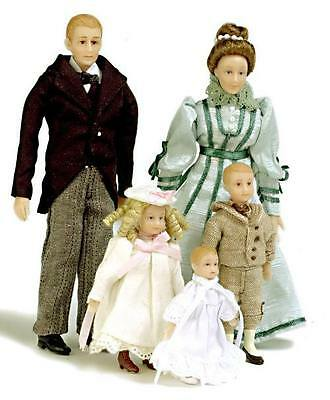 Porcelain  Doll - Victorian Family by Drummond SD0001 -  1/12 scale miniature