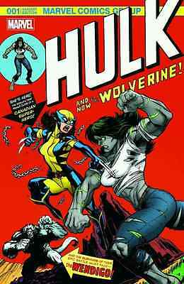 HULK 1 VOL 4 WOLVERINE MGA McGUINNESS COLOR 181 HOMAGE VARIANT NM