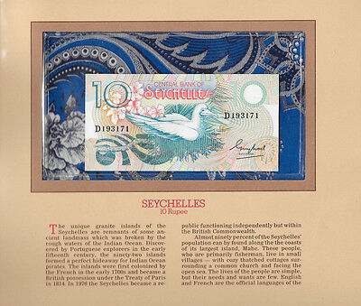 Most Treasured Banknotes Seychelles 1983 10 Rupees P28 GEM UNC birthday D193171