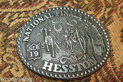 National Finals Rodeo Hesston 1989 Signed Fred Fellows Free USA Ship