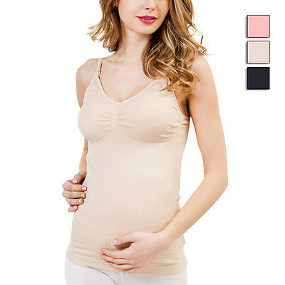 New Maternity Camisole Comfy Wireless Cami Pregnant Women Tank Top Feeding Vest