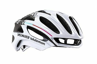 New Small Specialized Prevail Road Bike Bicycle Helmet Lululemon Team Colors