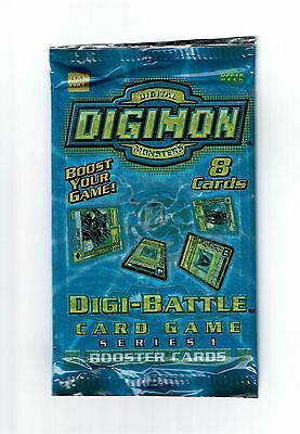 2002 Digimon Cards Digi Battle Series 1 Booster Pack Sealed  English