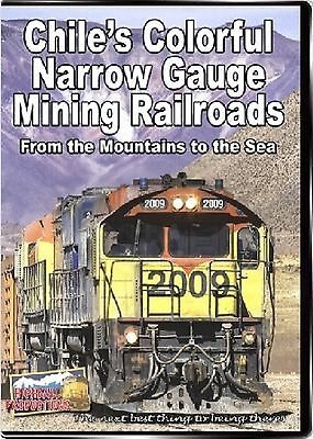 Chile's Colorful Narrow Gauge Mining Railroads New Blu Ray Video