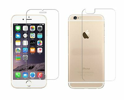 Front and Back Tempered Glass Screen Protector iPhone 6 6S 7 8 Plus X XS MAX XR