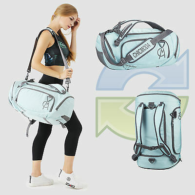 Weatherproof Training Sport Duffle Bag Workout Gym Bag Travel Luggage Backpack