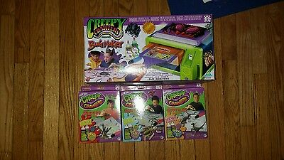 creepy crawlers oven with mold packs goop new