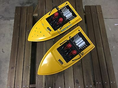 NQD Jet Boats x 2 - projects with extras, including Graupner Jet drive