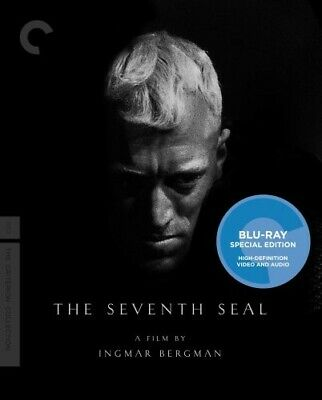 The Seventh Seal (Criterion Collection) [New Blu-ray] Black & White, Full Fram