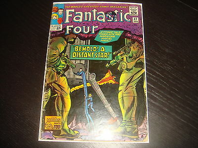 FANTASTIC FOUR #37  Silver Age Marvel Comics 1965  GD