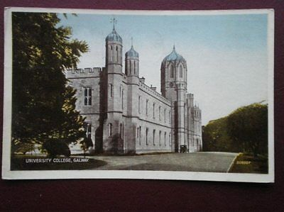 Postcard Galway Galway - University Collage