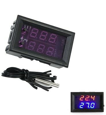 DC12V -50-110°C W1209WK Digital thermostat Temperature Control Smart Sensor UK