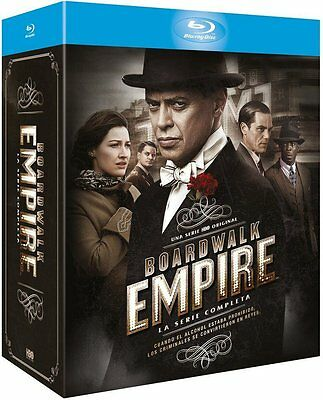 Boardwalk Empire Temporada 1 2 3 4 5 BLU RAY ESPAÑOL NUEVO  CASTELLANO COMPLETA