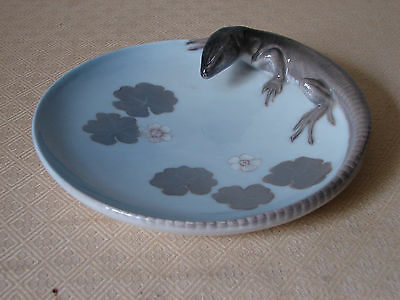 Vintage Royal Copenhagen LIZARD PLATE/Dish/Tray No 1100 - Seldom available