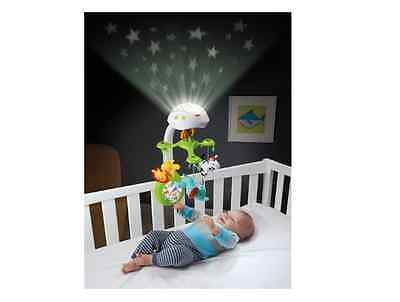 Crib Mobile Projector Fisher Price Modern Deluxe Musical 3 In 1 Baby Girl Boy
