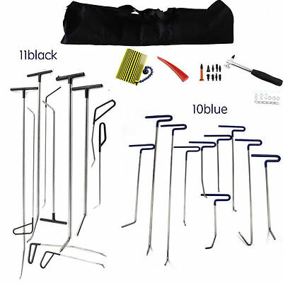 Paintless Dent Repair Kits Push Rods PDR Tools line board Auto Ding Dent Removal