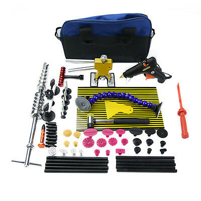 PDR Tools Paintless Dent  Repair Puller Lifter Removal Hammer Line Board Kits