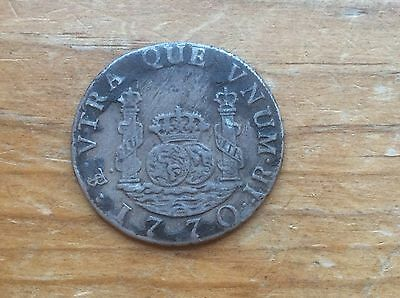 1770 Bolivia 2 reals @@ must see sharp detail@@