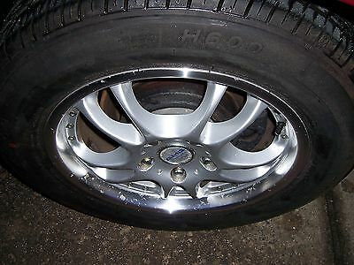 """Ford Falcon 16"""" Amg Techart Alloy Wheels And Tyres Set Of 4"""