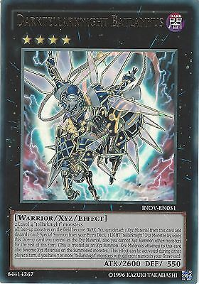 Yu-Gi-Oh Card: Darktellarknight Batlamyus - Ultra Rare - Inov-En051