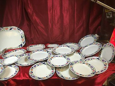 Copland Late Spode Made For Harrods Part Floral Service