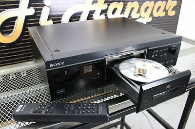 SONY CD PLAYER XA20ES Fully working with puck & Remote Great Sound!!