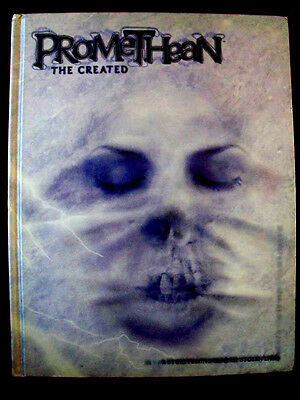 WORLD OF DARKNESS *PROMETHEAN: THE CREATED* RPG Rulebook. White Wolf *RARE* OOP