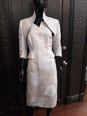 John Charles Size 10. Mother of the Bride dress and jacket.