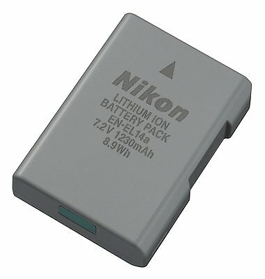 Nikon EN-EL14a Lithium Ion Rechargeable Battery for Camera - Brand New